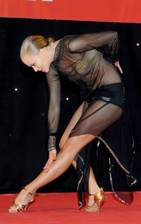 Do niedawna największą pasją Agnieszki Kaczorowskiej był taniec. /Agencja W. Impact