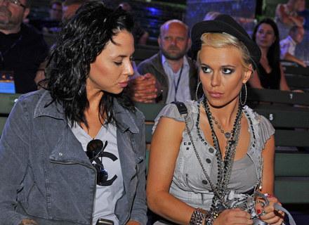 Do niedawna nierozłączne: Maja Sablewska i Doda /AKPA