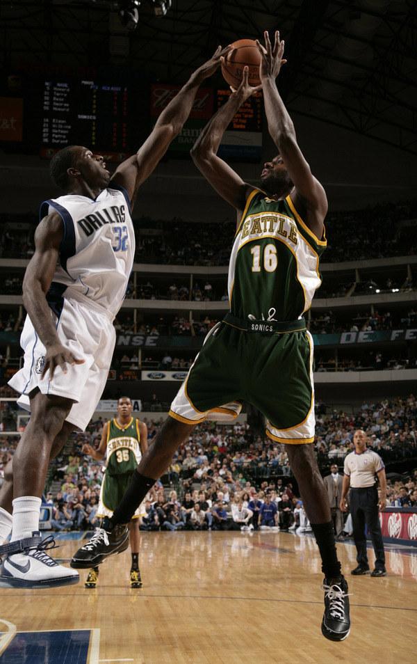 Do niedawna w NBA występowała drużyna Seattle SuperSonics /AFP
