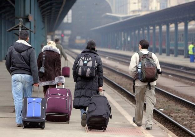 Do Niemiec może wkrótce wyjechać w poszukiwaniu lepszego życia ok. 500 tys. Polaków /AFP