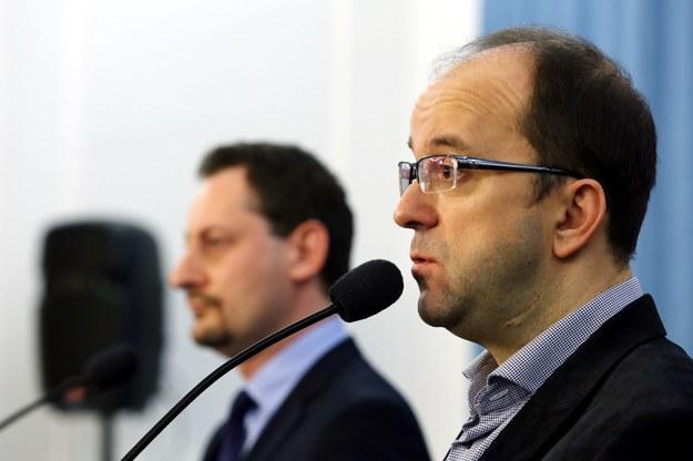 Do nowego koła dołączyli m.in. Armand Ryfiński i Roman Kotliński /PAP/Tomasz Gzell /PAP