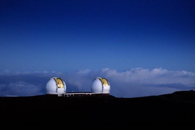 Do nowego odkrycia wykorzystano największy na świecie teleskop - interferometr Kecka /materiały prasowe