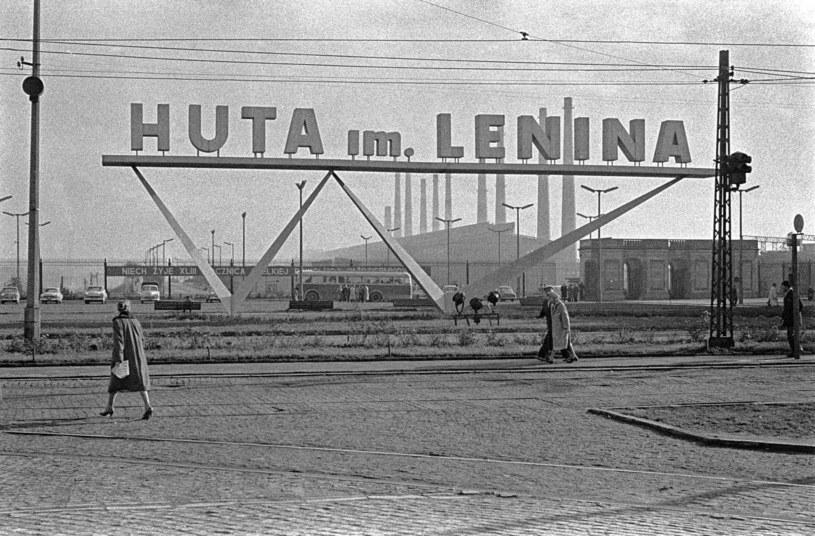 Do Nowej Huty ściągali ludzie z całej Polski /Miroslaw Stankiewicz /Agencja Gazeta
