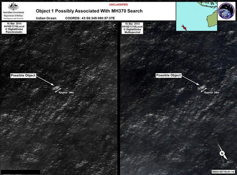 Do odkrytych obiektów płyną okręty wojenne /AFP