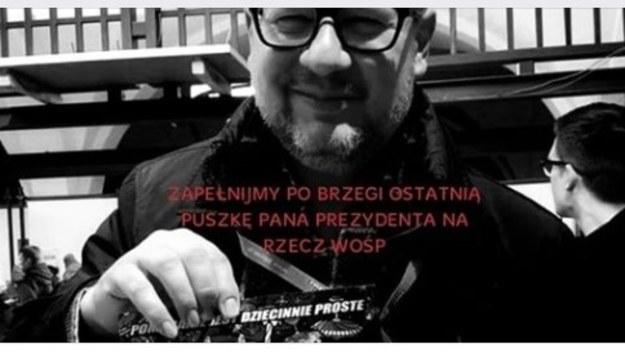 """Do """"Ostatniej puszki pana prezydenta dla WOŚP"""" trafiło prawie 16 mln zł"""