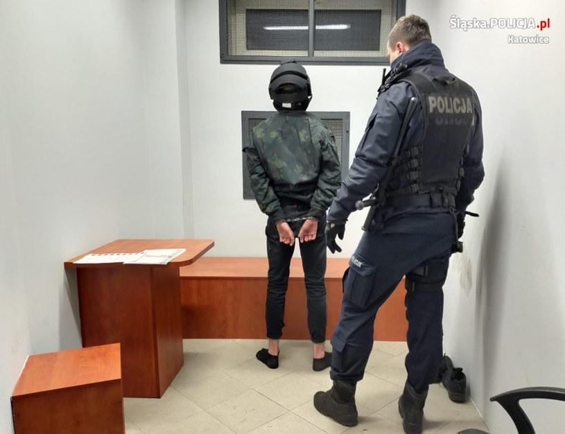 Do pobicia doszło w sylwestra /Śląska policja /Policja