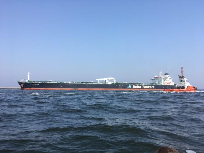 Do Polski dotarł właśnie tankowiec Delta Kanaris / Inf. prasowa /&nbsp