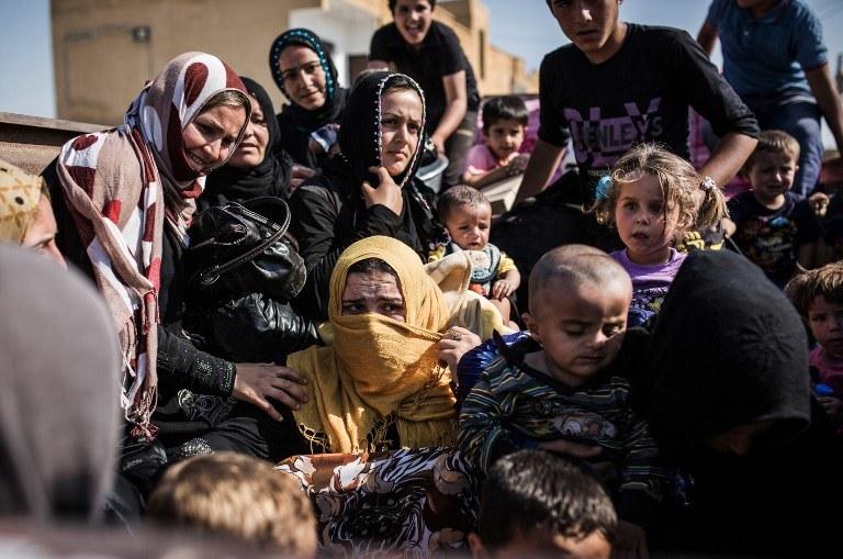 Do Polski przyjadą uchodźcy m.in. z Syrii /AFP