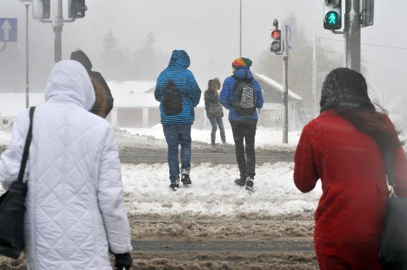 Do Polski wraca zima /Fot. Wojciech Strozyk /Reporter