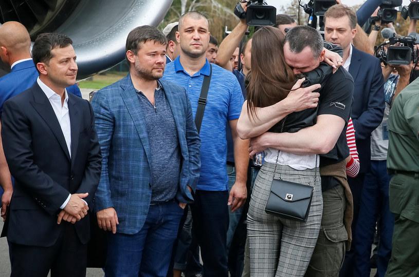 Do poprzedniej wymiany więźniów doszło 7 września. Objęła ona 70 osób, po 35 z każdej strony. Wśród zwolnionych Ukraińców był m.in. pochodzący z zajętego przez Rosję Krymu i skazany na 20 lat rosyjskiej kolonii karnej reżyser Ołeh Sencow /GLEB GARANICH /Reuters /Agencja FORUM