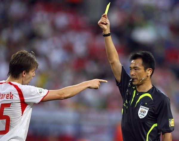 Do postawy Euzebiusza Smolarka w meczu z Ekwadorem nie można mieć większych pretensji /AFP