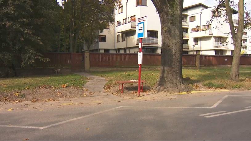Do potrącenia 10-latki doszło w okolicy przystanku autobusowego /Polsat News /Polsat News