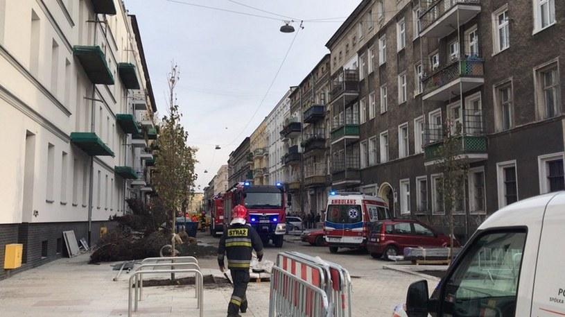 Do pożaru doszło w centrum Szczecina /Aneta Łuczkowska /RMF