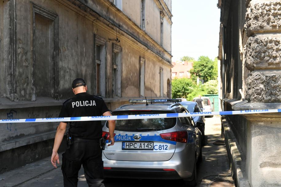 Do pożaru doszło w niedzielę /Tytus Żmijewski /PAP
