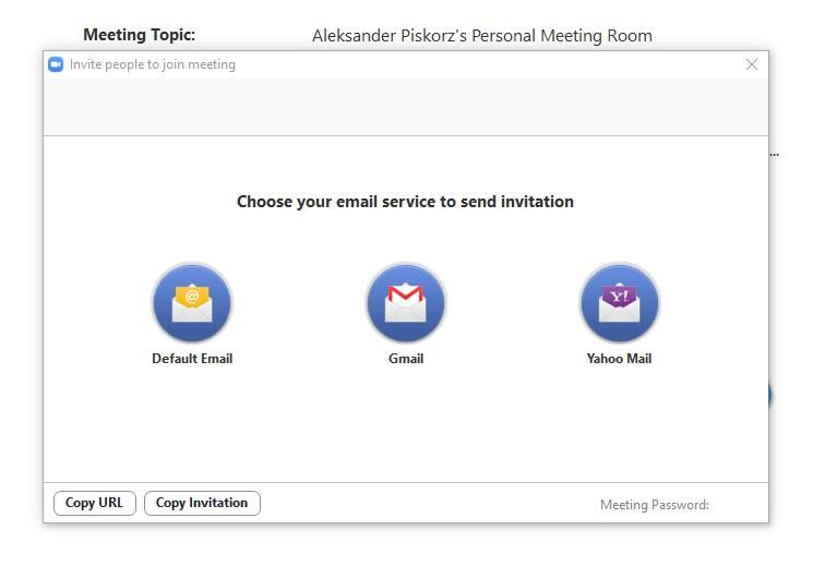 Do rozmowy w Zoom można zaprosić na kilka sposobów /INTERIA.PL