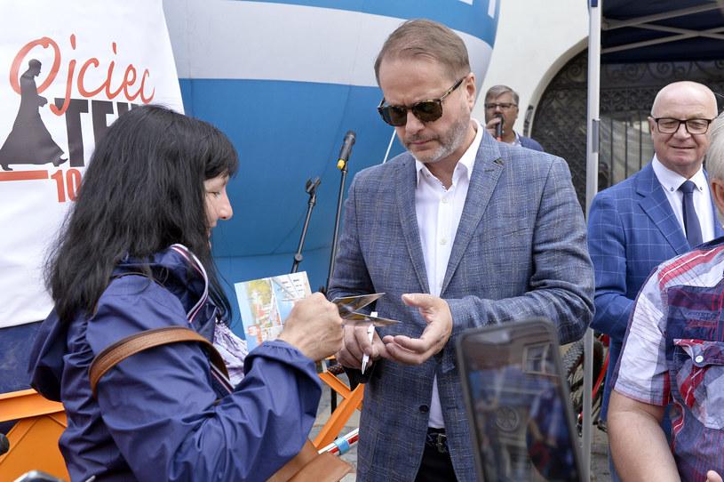 Do Sandomierza przyjechał również Artur Żmijewski /AKPA