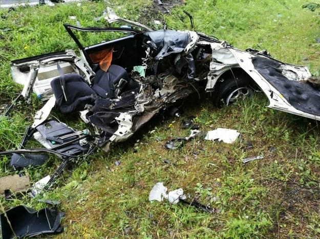 Do śmiertelnego wypadku doszło w pobliżu Trzebienia /Policja