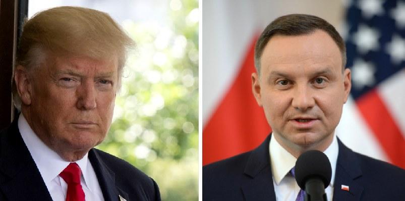Do spotkania Andrzeja Dudy z Donaldem Trumpem dojdzie w lipcu /SAUL LOEB /Jacek Turczyk /AFP/PAP/EPA