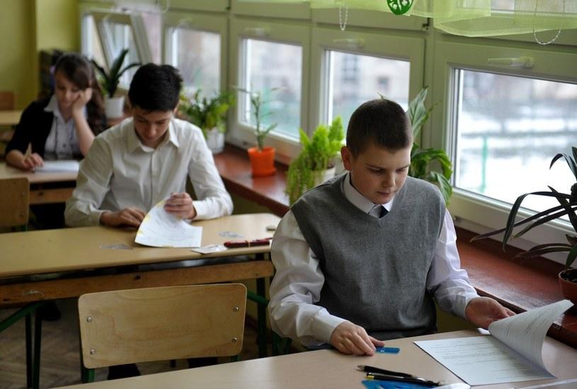 Do sprawdzianu przystąpiło prawie 350 tys. uczniów /Łukasz Solski /East News