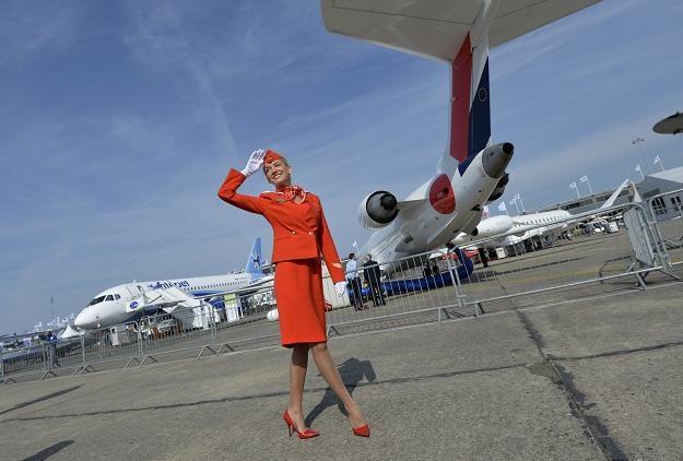 Do sprzedania są akcje m.in. linii lotniczych Aerofłot. Fot. MIGUEL MEDINA /AFP