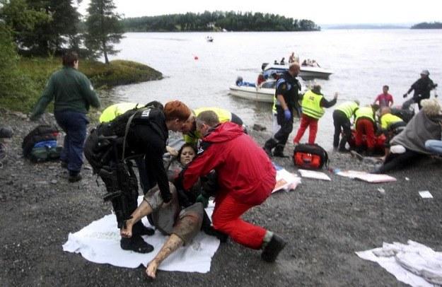 Do strzelaniny doszło na obozie młodzieżówki rządzącej Norweskiej Partii Pracy na wyspie Utoya /AFP