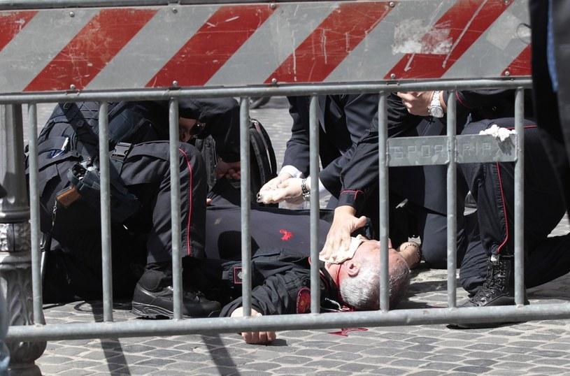 Do strzelaniny doszło przed kancelarią premiera /Gregorio Borgia, AP /East News