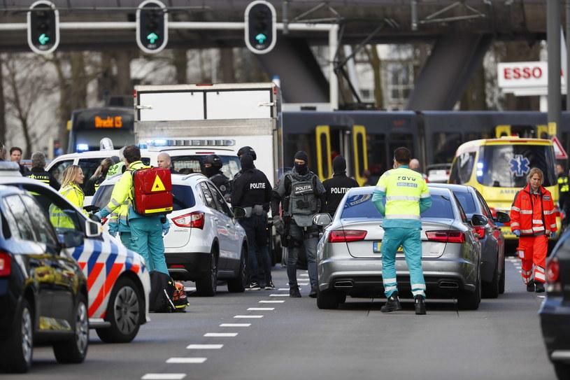 Do strzelaniny doszło w mieście Utrecht /PAP/EPA/ROBIN VAN LONKHUIJSEN /PAP/EPA