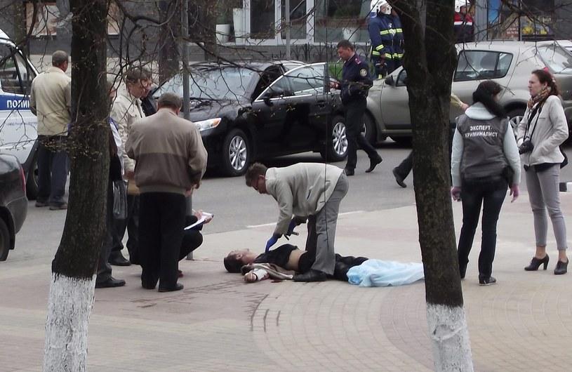 Do strzelaniny doszło w poniedziałek w Biełgorodzie /VETLANA STARIKOVA /PAP/EPA