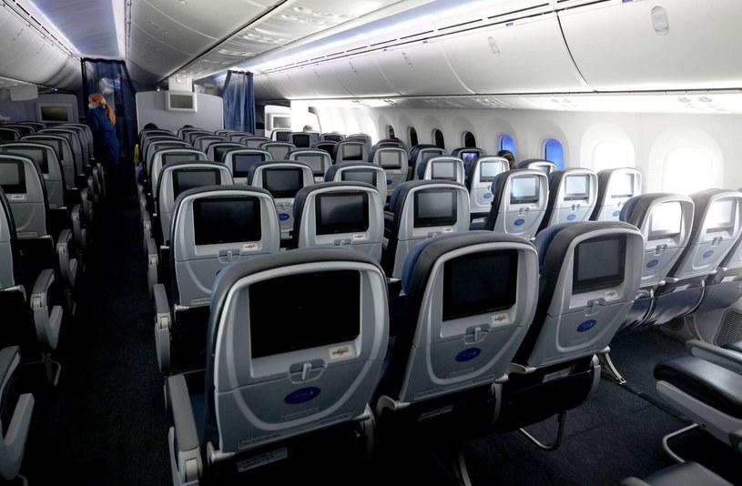 Do sytuacji miało dojść w samolocie United Airlines /AFP