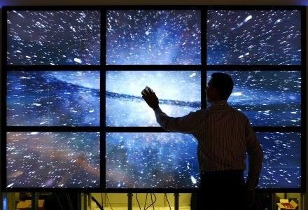 Do technologii takich jako OLED, SED i telewizory laserowe dołączy także pomysł Microsoft? /AFP