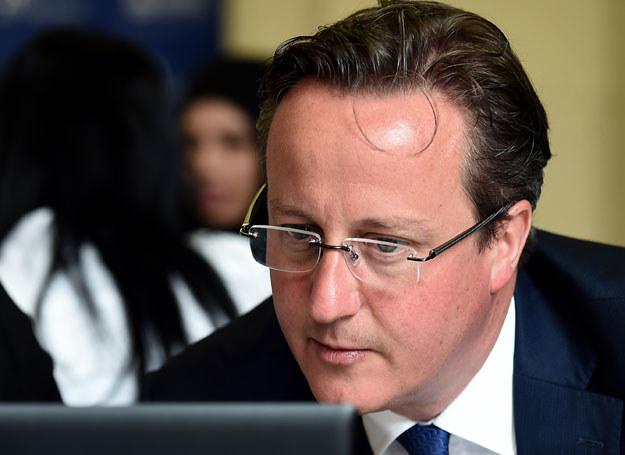 Do tej pory Cameron nie podawał konkretnej daty referendum /PAUL ELLIS /AFP