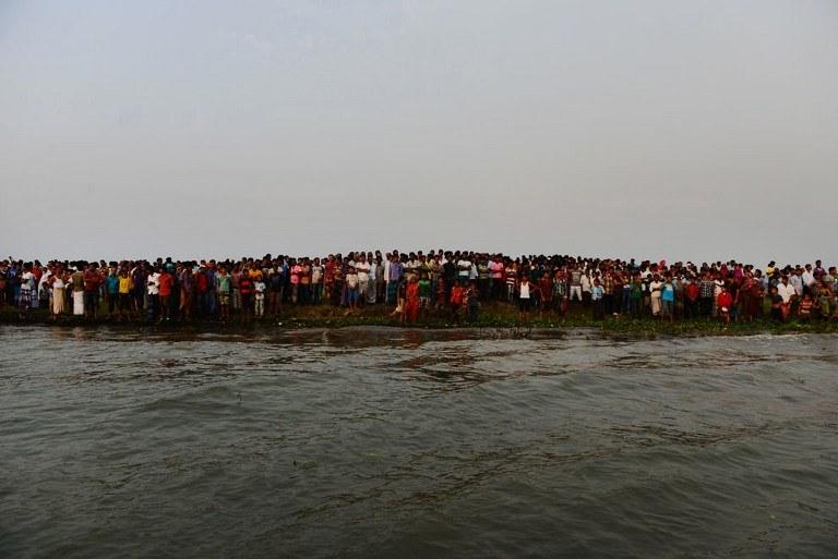 Do tragedii doszło na rzece Meghna koło Dhaki, stolicy Bangladeszu /AFP