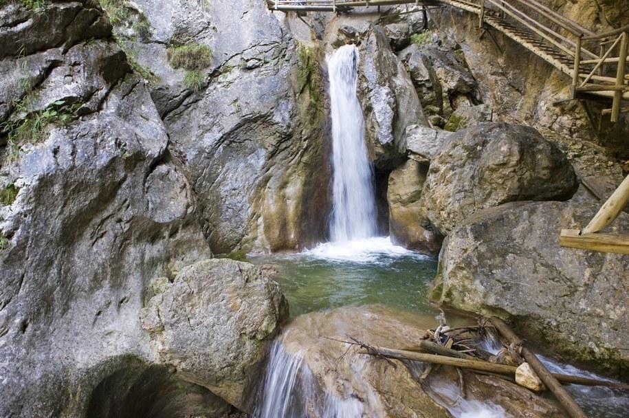 Do tragedii doszło w Baerenschuetzklamm w Styrii w Austrii / McPHOTO    /PAP/EPA
