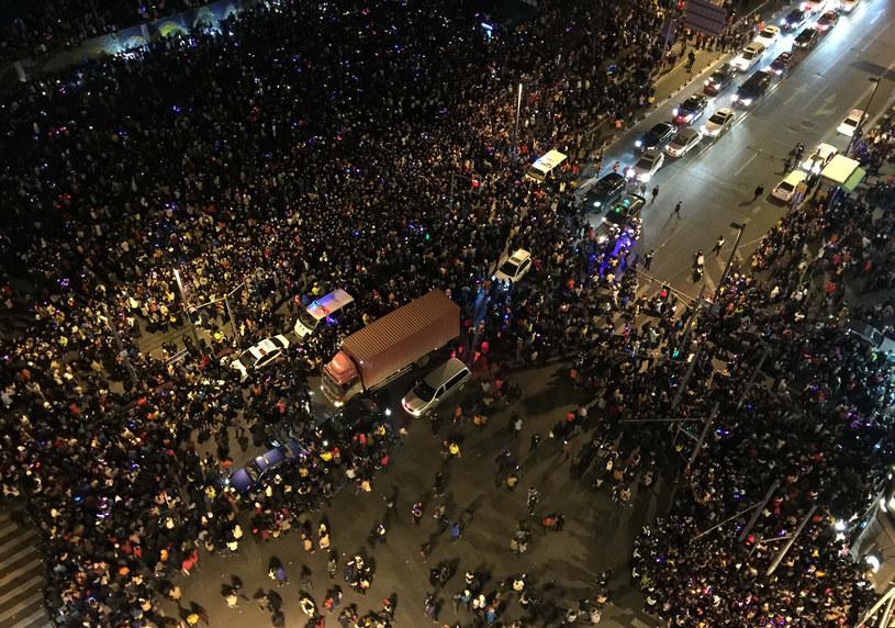 Do tragedii doszło w dzielnicy Bund /AFP
