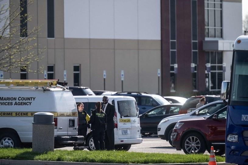 Do tragedii doszło w Indianapolis  w czwartek /Jon Cherry /AFP