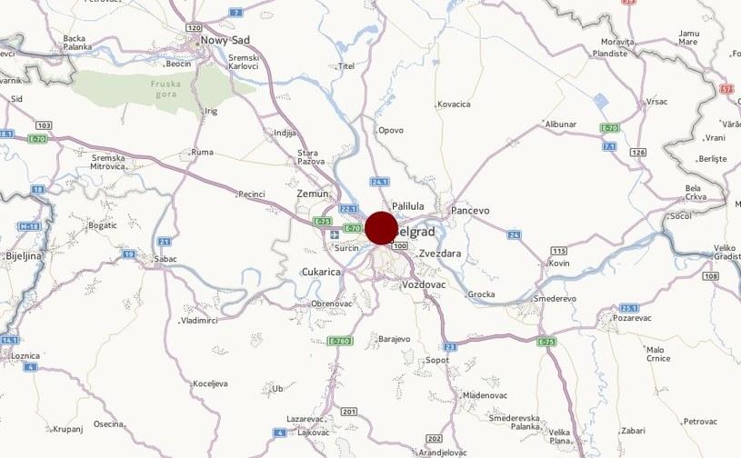 Do tragedii doszło w pobliżu Belgradu /INTERIA.PL