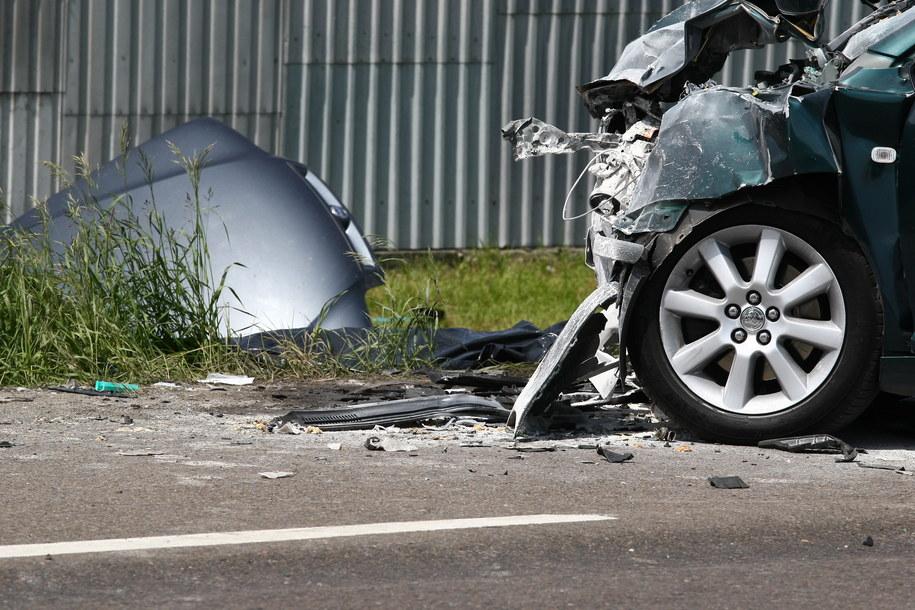 Do tragicznego wypadku doszło m.in. w Glinojecku /Marcin Bednarski /PAP