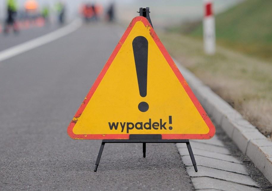 Do tragicznego wypadku doszło na A1 /Marcin Bielecki /PAP