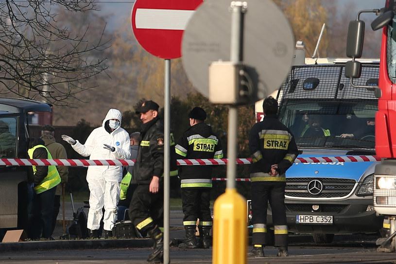 Do tragicznych wydarzeń doszło w nocy z 2 na 3 grudnia w Wiszni Małej koło Wrocławia /PAWEL RELIKOWSKI/POLSKA PRESS /East News