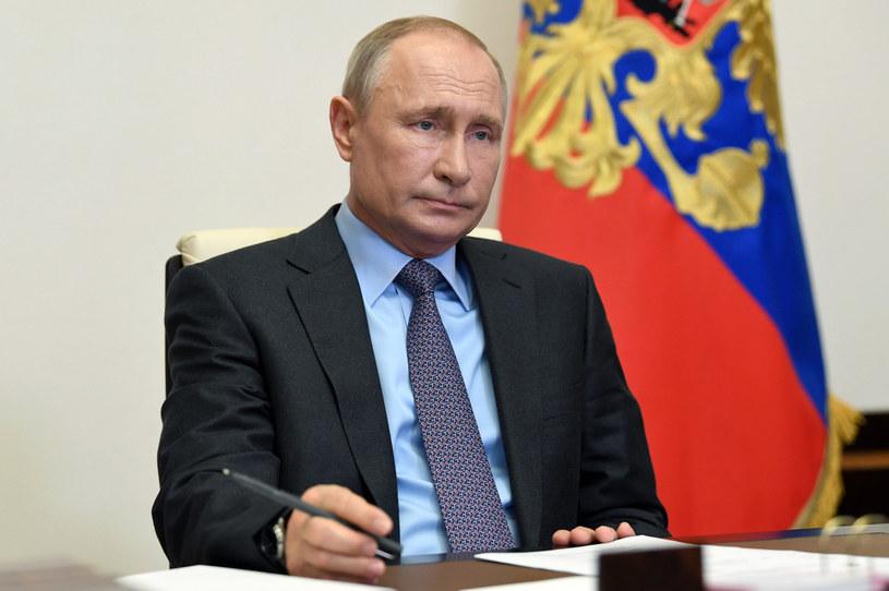 Do udziału w głosowaniu 1 lipca wezwał we wtorek Rosjan prezydent Władimir Putin /Alexei Nikolsky/TASS /Getty Images