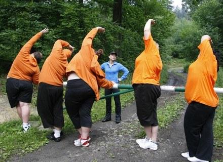 Do udziału w programie zaproszono osoby ze znaczną nadwagą fot. TV PULS /