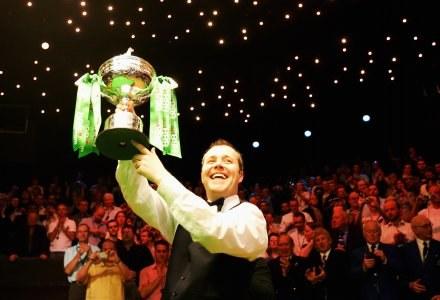 Do Warszawy przyjedzie mistrz świata John Higgins Fot. Laurence Griffiths/Getty Images /