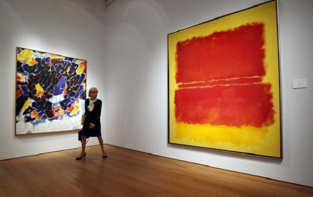 Do Warszawy zawitała twórczość jednego z najdroższych artystów współczesnych /AFP