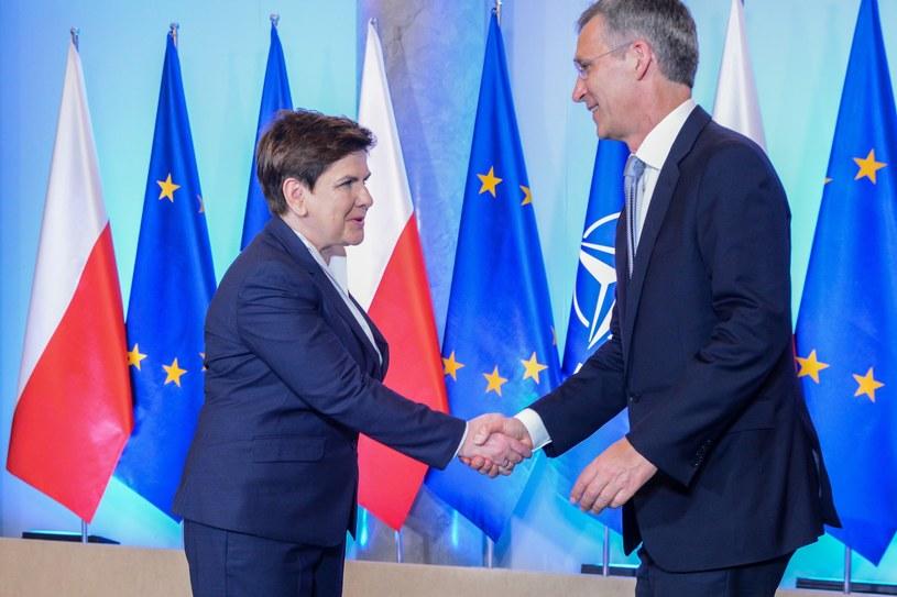 Do wizyty Stoltenberga w Warszawie dojdzie na trzy tygodnie przed rozpoczęciem na Białorusi manewrów Zapad /Mariusz Gaczyński /East News