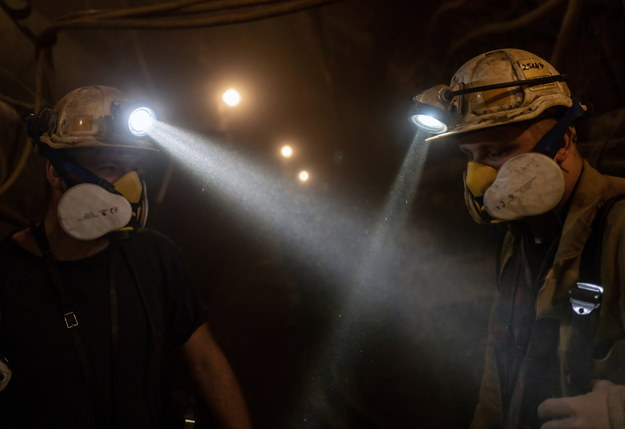 Do wstrząsu doszło 900 metrów pod ziemią /Andrzej Grygiel /PAP
