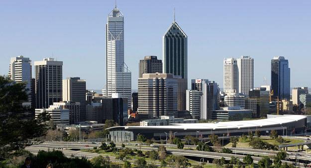Do wybuchu doszło w galerii handlowej na przedmieściach Perth fot. Greg Wood /AFP
