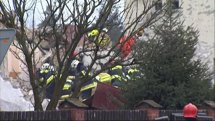 Do wybuchu doszło w jednym z domów przy ul. Krótkiej w Puławach /Polsat News