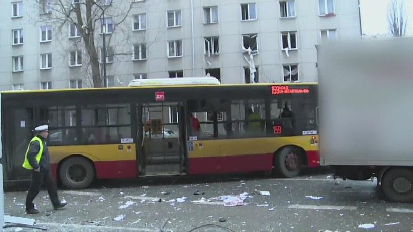 Do wybuchu doszło w kamienicy w centrum Warszawy /TVN24/x-news