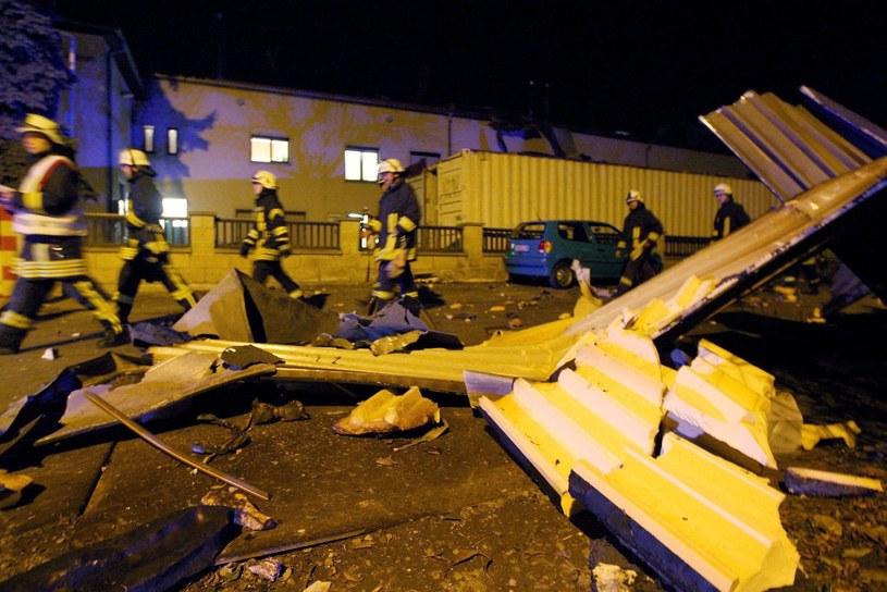 Do wybuchu doszło w zakładzie chemicznym w miejscowości Pirna /PAP/EPA