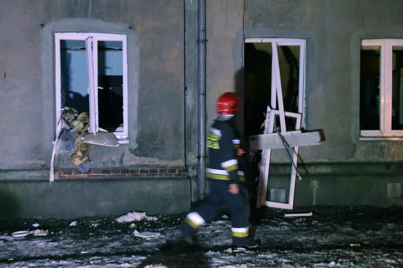 Do wybuchu gazu doszło w budynku mieszkalnym w Łodzi /Grzegorz Michałowski /PAP